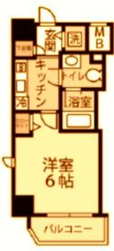 グランヴァン横濱反町4階Fの間取り画像