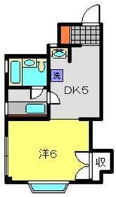 日吉駅 徒歩5分4階Fの間取り画像