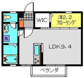 サンマーチ2階Fの間取り画像