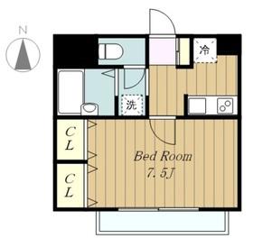 プリマヴェール相模台2階Fの間取り画像