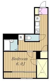 レオパレスシャルマン中野島1階Fの間取り画像