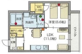 (シニア限定)へーベルVillage 祖師谷一丁目1階Fの間取り画像