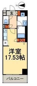 D-RoomStay両国5階Fの間取り画像