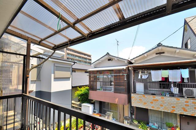 長田3-1-35 貸家 この見晴らしが陽当たりのイイお部屋を作ってます。