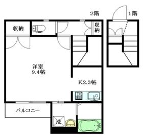 MAISON OKABE2階Fの間取り画像