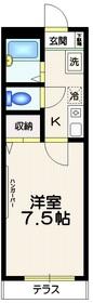 パルク東高円寺1階Fの間取り画像