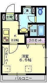 練馬高野台駅 徒歩13分3階Fの間取り画像