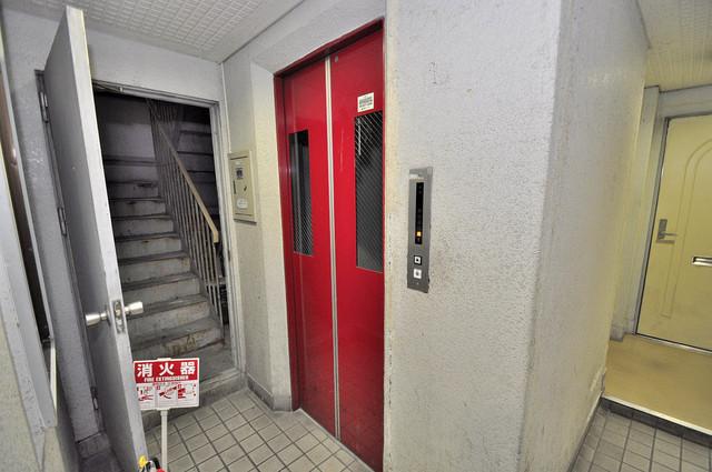 ドリーム21 嬉しい事にエレベーターがあります。重い荷物を持っていても安心
