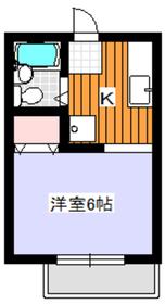 ナリッシュA1階Fの間取り画像
