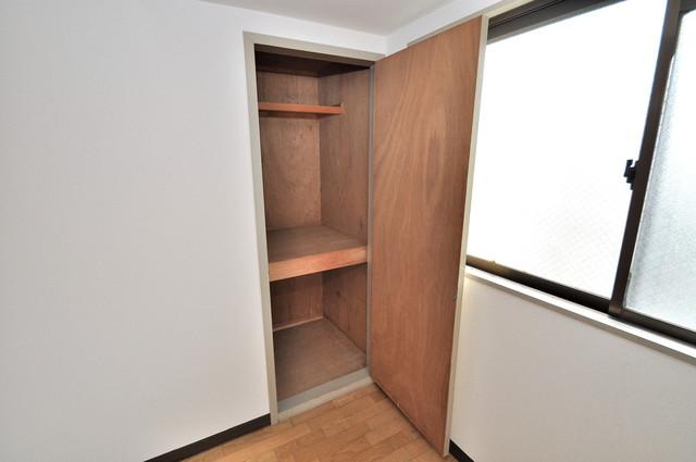 プレアール布施 もちろん収納スペースも確保。いたれりつくせりのお部屋です。