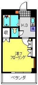 日吉駅 徒歩11分5階Fの間取り画像