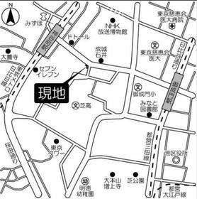 神谷町駅 徒歩3分案内図
