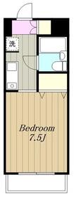 ライオンズマンション大和中央4階Fの間取り画像