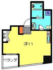 ルナマーレ4階Fの間取り画像