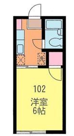 アドバンス2階Fの間取り画像