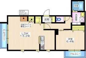 M・K MAISON2階Fの間取り画像