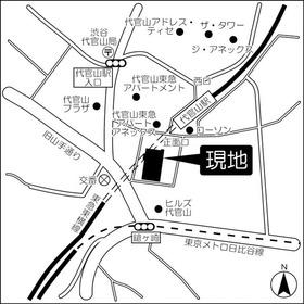代官山タワー案内図