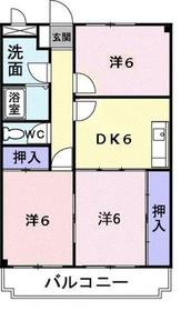 海老名駅 徒歩15分3階Fの間取り画像