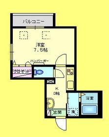 シルクロードA3階Fの間取り画像