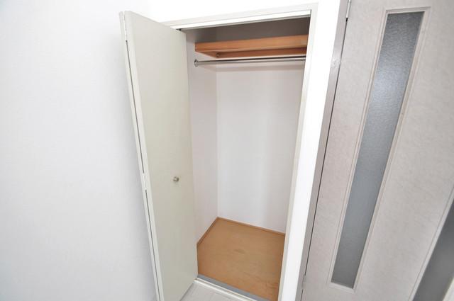 シャトル新深江 もちろん収納スペースも確保。お部屋がスッキリ片付きますね。