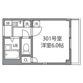 シャトレー和泉多摩川2階Fの間取り画像