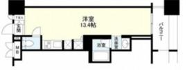 パークフラッツ横濱公園4階Fの間取り画像