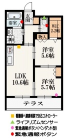 芦花公園駅 徒歩18分1階Fの間取り画像
