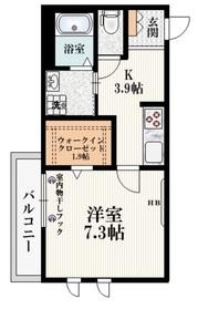 西国分寺駅 徒歩8分2階Fの間取り画像