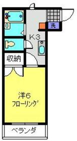 多摩川駅 徒歩17分1階Fの間取り画像