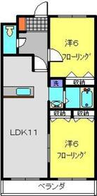 新羽駅 徒歩24分1階Fの間取り画像