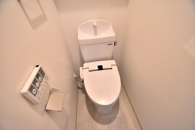 DOAHN 巽西 清潔感のある綺麗なトイレにはウォシュレット標準装備です。