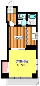 平和台駅 徒歩19分5階Fの間取り画像