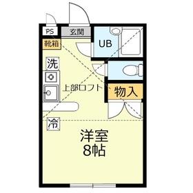 アビタシオンノーバ21階Fの間取り画像