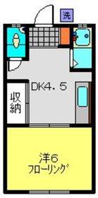 日吉本町駅 徒歩9分1階Fの間取り画像