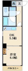 (仮称)下谷3丁目マンション6階Fの間取り画像