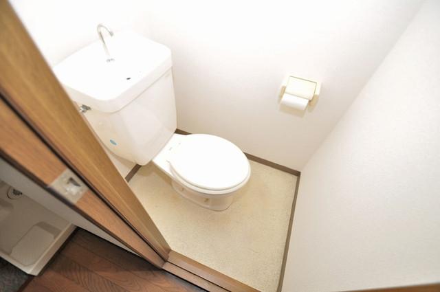 サンライズヒルズ スタンダードなトイレは清潔感があって、リラックス出来ます。