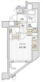 デュオヴェール飯田橋2階Fの間取り画像