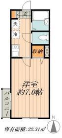 松島SSメゾン1階Fの間取り画像