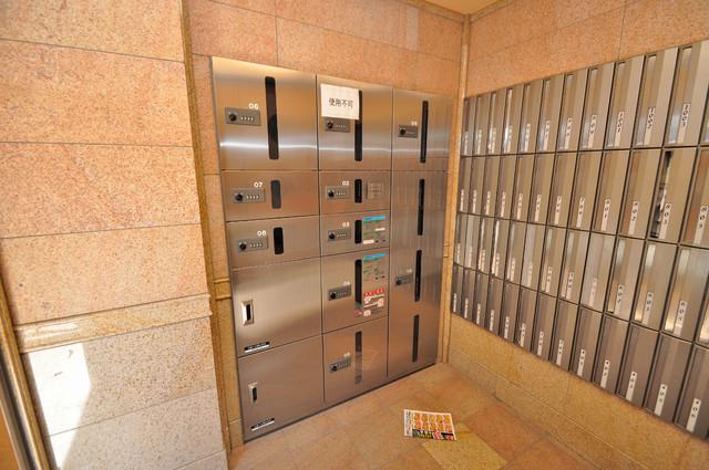 Celeb布施東 エントランス内には各部屋毎のメールボックスがあります。