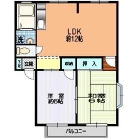 大倉山駅 徒歩8分1階Fの間取り画像