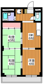 地下鉄成増駅 徒歩5分1階Fの間取り画像
