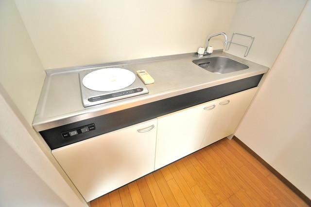 TSカーサプリモ システムキッチンは広々と使えて、お料理が楽しくなります。