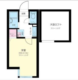 リヴィエール川崎  2階Fの間取り画像