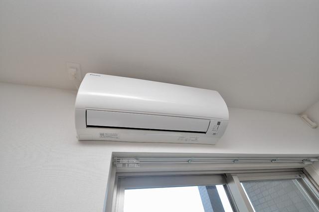 プレミアム菱屋西 エアコンがあるのはうれしいですね。ちょっぴり得した気分。