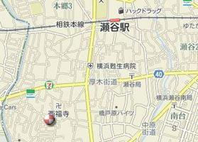 瀬谷駅 徒歩15分案内図