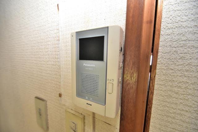 ロイヤル丸文 TVモニターホンは必須ですね。扉は誰か確認してから開けて下さいね