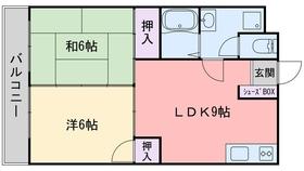 大産飯倉ビル2階Fの間取り画像
