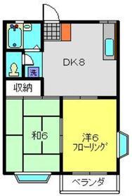 仲町台駅 徒歩17分1階Fの間取り画像