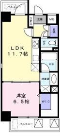 レジデンス西梅田3階Fの間取り画像