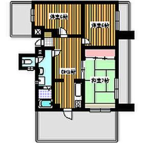 東武練馬駅 徒歩14分4階Fの間取り画像